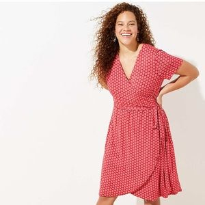 Ann Taylor Loft Wrap Dress